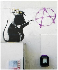 Banksy - Anarchy Mouse